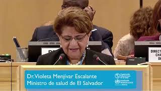 Download Dr. Violeta Menjívar Escalante, Ministra de salud de El Salvador Video