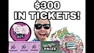 Download I Spent $300 on lottery tickets and THE WINS ARE BANANAS! HUGE SESSION! Chase rd 1 WINS! $300 Video