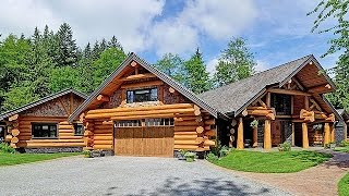 Download Dream Homes - Luxury Log Home & $8 Million Dollar Farmhouse Video