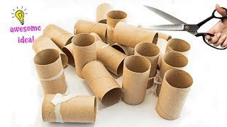 Download 7 Brilliant Uses for Empty Tissue/Cardboard Tubes That Are Straight Up Genius! Best Reuse Idea Video