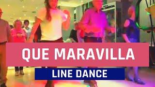 Download Baile en Linea - Que Maravilla ( Cha Cha Cha ) Video