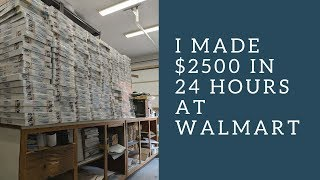 Download Retail Arbitrage at Walmart: I Made $2500 in one night on one item Video