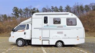 Download 유럽형 캠핑카 싸게 사는법! 한국 트럭에 결합된 유럽 카라반, 트라반! Video