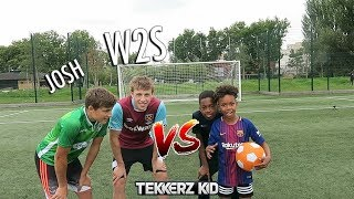 Download TEKKERZ KID vs W2S | Bro vs Bro Woodwork Challenge!! Video