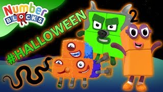 Download Numberblocks - #Halloween Special | Spooky Numbers | Learn to Count Video