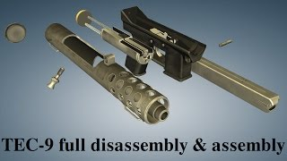 Download Intratec TEC-9: full disassembly & assembly Video
