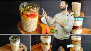 Download How to Make Overnight Oats in a Jar - Our 6 Best Recipes! Video