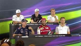 Download The Longest Press Conference Question Ever?! | 2014 Abu Dhabi Grand Prix Video