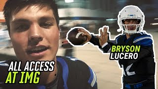 Download Bryson Lucero Shows Us What Life Is Like As IMG ACADEMY'S QB! All Access For IMG's SPRING GAME 🏆 Video