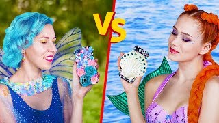 Download 10 DIY Mermaid vs Fairy Lifestyle Ideas Video