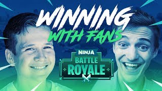 Download Winning With Fans!! - Fortnite Battle Royale Gameplay - Ninja Video