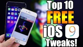 Download Top 10 Best FREE iOS 9 Jailbreak Tweaks! Video