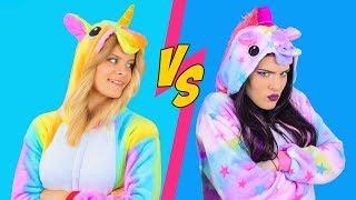 Download Maquillaje De Unicornio Buena vs Unicornio Mala / 8 Increíbles Ideas De Maquillaje De Unicornio Video