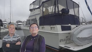 Download Retired Couple Choose to Live on a Boat Instead of a House! Video