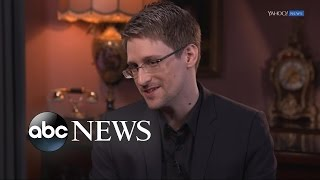 Download Edward Snowden Full Interview on Trump, Petraeus, & Having 'No Regrets' Video