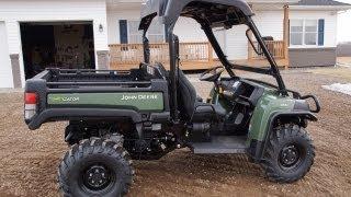 Download John Deere 855D Diesel Gator with Power Steering 2013 Video