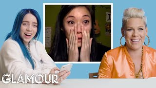 Download Billie Eilish, Pink, Halsey and More Singers' Most Emotional Moments on You Sang My Song | Glamour Video