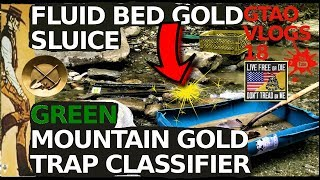 Download Fluid Bed GOLD Sluice | GREEN MOUNTAIN GOLD TRAP Classifier Video