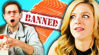 Download Americans Try Banned Foods From Other Countries Video