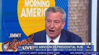 Download New York Mayor Bill de Blasio Running for President Video