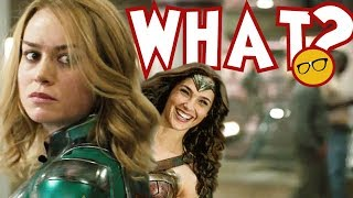 Download Captain Marvel Creator Thought Wonder Woman Was Better. Skrulls Were 'Mushy″ Video