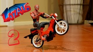 Download SPIDERMAN Stop Motion Action Video Part 2 Video