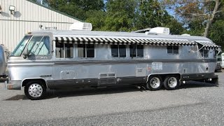 Download Walk Through 1987 Airstream Classic 345 Vintage Motorhome Bus GMC NASA Astrovan Video