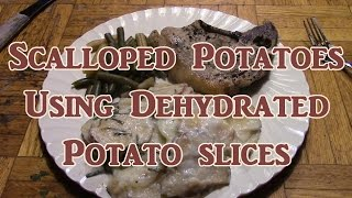 Download Scalloped Potatoes Using Dehydrated Potato Slices Video