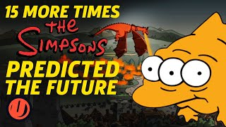 Download 15 MORE Times The Simpsons Predicted The Future Video