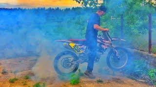 Download Suzuki 450 BURNOUT! Video