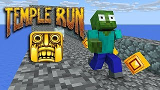 Download Monster School : TEMPLE RUN CHALLENGE - Minecraft animation Video