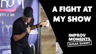 Download A fight at Sugar Sammy's show Video
