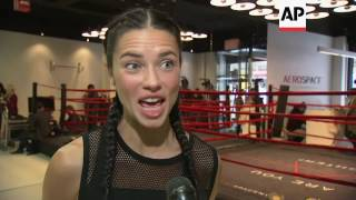 Download Model Adriana Lima shows us her workout; says this will be her 16th Victoria's Secret Fashion Show a Video