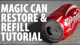 Download Magic Can Restore and Refill - TUTORIAL Video