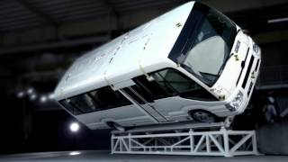 Download TOYOTA COASTER|Roll-over test Video