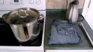 Download Shrink Jeans by Boiling Them Video