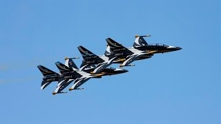 Download The Fantastic Black Eagles Aerobatic Team Airshow World Video