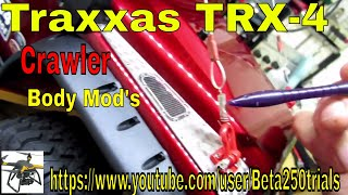 Download Traxxas TRX-4 Scale and Trail Crawler Body Mod's Video