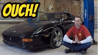 Download Here's What Broke on My Cheap Ferrari F355 ***OUCH*** Video