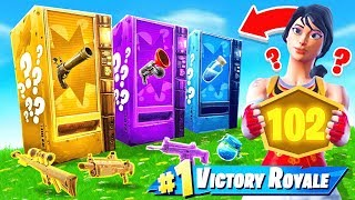 Download Vending Machine ONLY POP-UP CUP *NEW* Game Mode in Fortnite Battle Royale Video