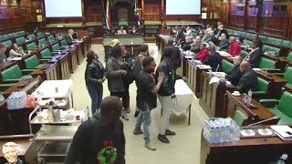 Download BLF vs EFF (Shivambu) At Land Review Committee - WATCH IT ALL Video
