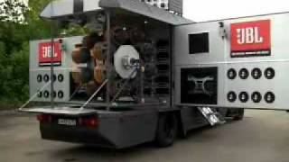Download JBL Demo Truck or Mobile Nuclear Reactor - Cosa de Locos Video
