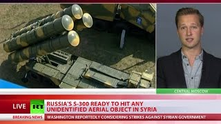 Download Russia's S-300, S-400 ready to hit any unidentified object in Syria - MoD warns US-led coalition Video