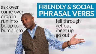 Download Friendly & Social Phrasal Verbs in English Video