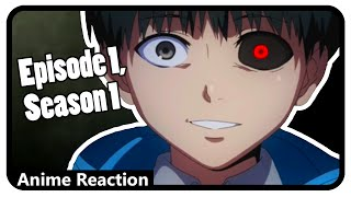 Download Tokyo Ghoul Episode 1 Reaction | Dark Alleys (Anime Reaction) Video