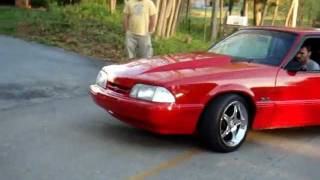 Download 1989 Ford Mustang LX burnout Video