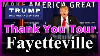Download Donald Trump ″THANK YOU″ AMAZING Rally in Fayetteville, North Carolina FULL EVENT HD (12/6/2016) ✔ Video