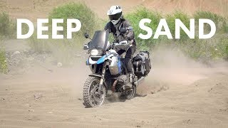 Download How to Ride in Deep Sand on Adventure Bikes Video