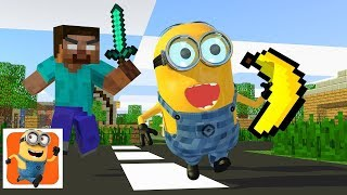 Download Monster School : Minion Rush Challenge - Minecraft Animation Video