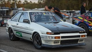 Download AE86 Corolla 6.9@207 and Subaru in the 7's!! Keytel Racing - Real Street Video